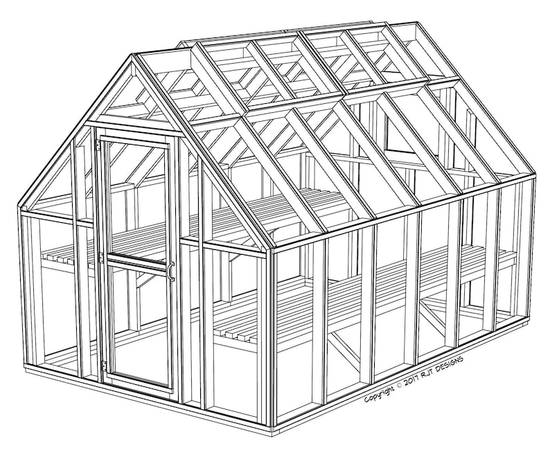 8 X 12 Greenhouse Plans Pdf Version