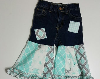 Upcycled Toddler Jeans