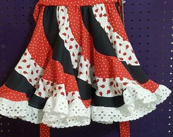 Ladybug Peppermint Swirl Dress