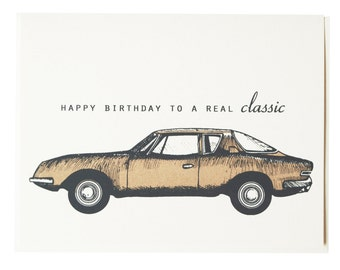 Birthday Card - Real Classic