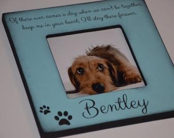 Personalized Dog Frame, Personalized Cat Frame, Custom Pet Frame, Memorial Dog Frame, We Love Our Pet Frame