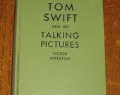 Tom Swift And His Talking Pictures Victor Appleton 1928 Book Unread Twenties Invention Book Whitman Publish Excellent Condition Collectible