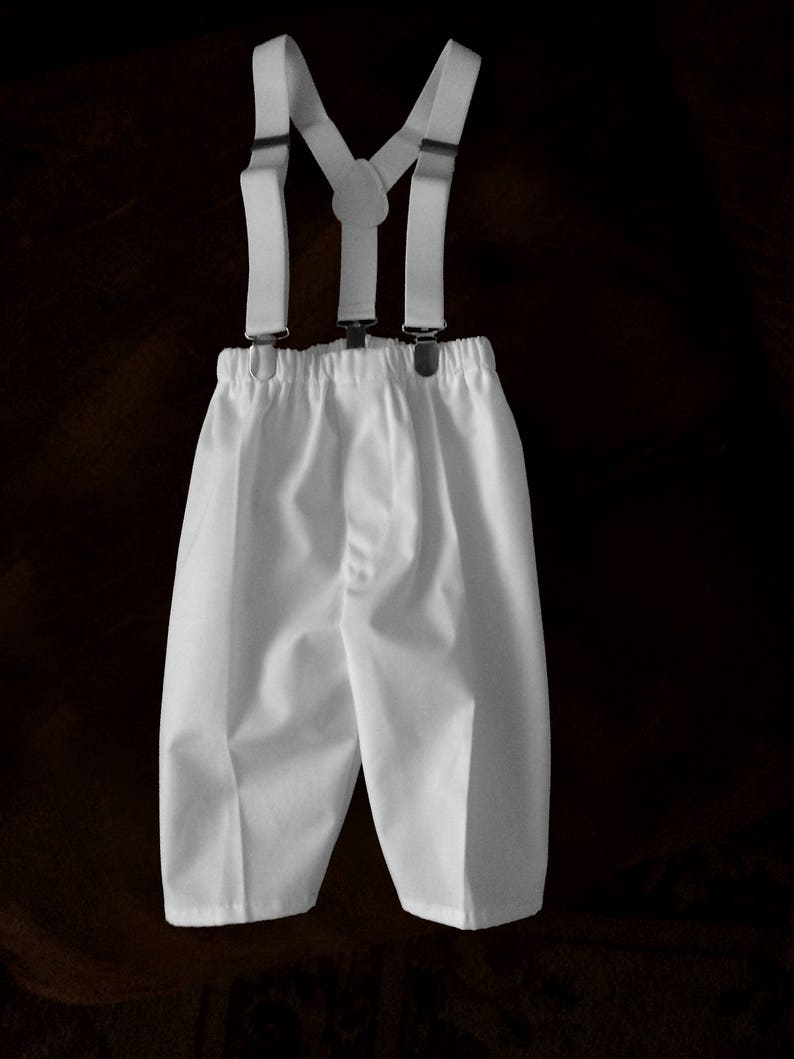 70c3f03e3940 Baby Boys Christening baptism blessing Dress pants with | Etsy