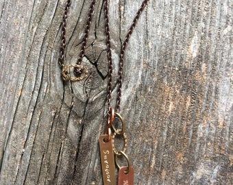 Survivor necklace