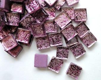 10mm Mini Antiqued Purple Foil Backed Mosaic Tiles  Mosaics  Mosaic  Supplies  Craft Supplies 36c748b9b2a07