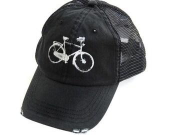 Dad Hat - Punk Rock - BIKE HAT - black hat - Bike - Baseball Hat - Bicycle  - Spring - Summer - Sping - Baseball Hat bebb02be7acf