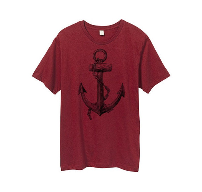 41e8beb14fcb45 Herrenshirt Anker Tshirt Herren-Anker-t-shirt Piraten