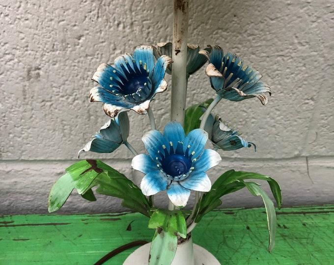 Italian Blue Flowers