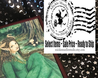 Ready to Ship FLASH SALE This Listing is 25% Off, Lady of the Forest Treasure Box