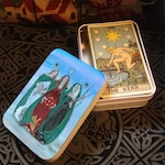 Tarot Tin Triple Goddess