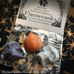 Pre-Order for Samhain Flamecasks, Nine Sacred Woods, Wax Igniting Charms