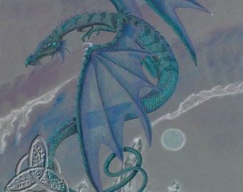 Crystal Dragon Open Edition Print