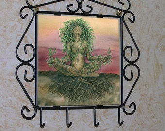 Dryad Spirit Kitchen Key or Herb Rack