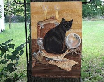 Art of Magic, Black Cat Garden Flag