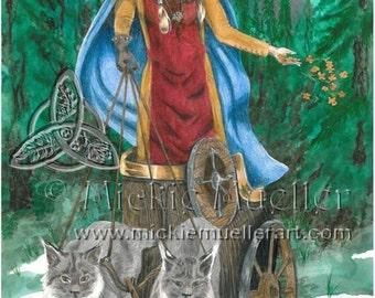 Freya Limited Edition Print
