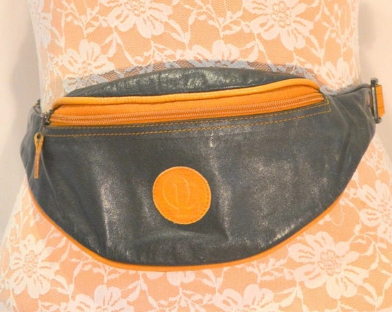 Kangaroo Leather Adjustable Fanny Pack - Made In Australia