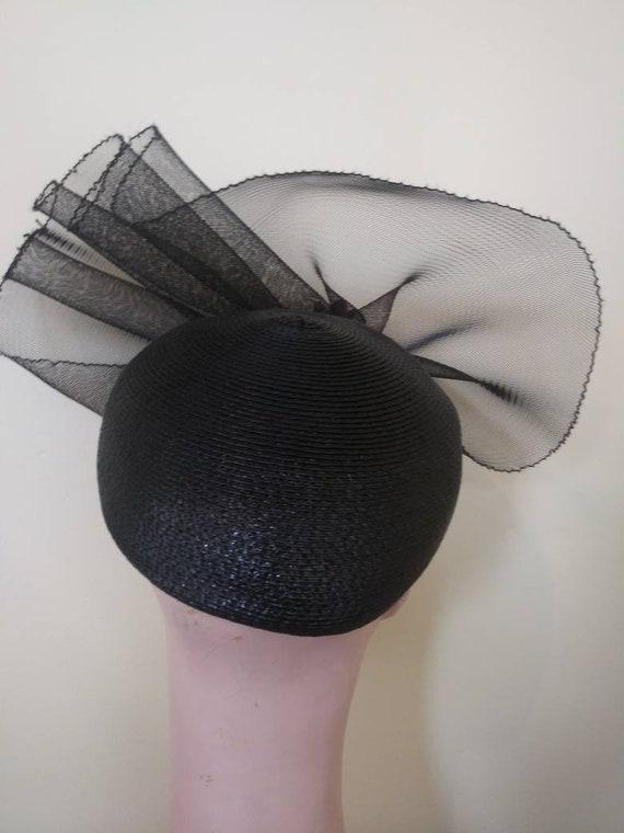 Vintage 1950's Elizabeth Hawkins hat / fifties fa… - image 4