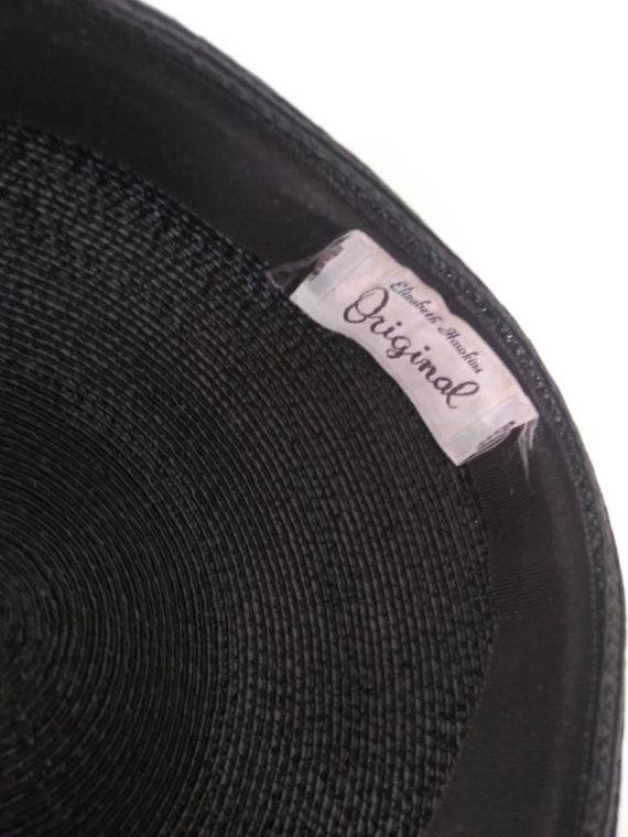 Vintage 1950's Elizabeth Hawkins hat / fifties fa… - image 2