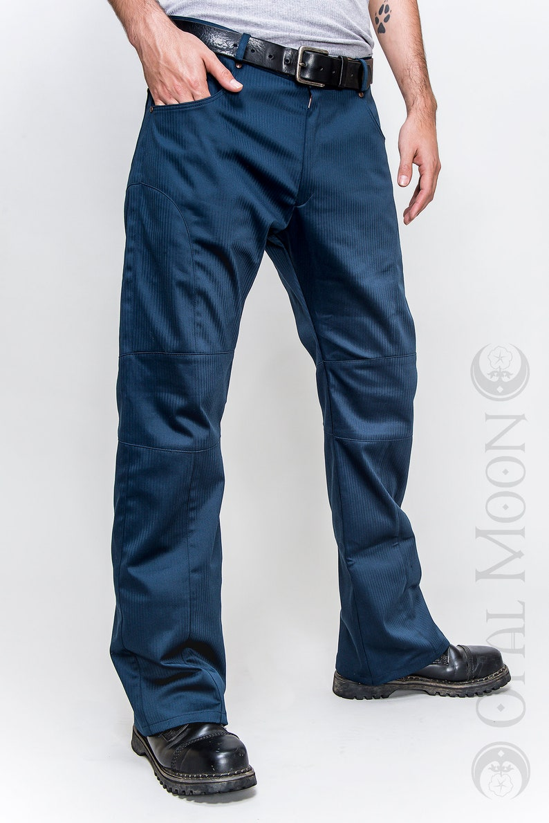 NEW FABRIC: The Men's Gahan Sateen Rivet Pants image 0
