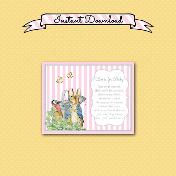 Peter Rabbit Books for Baby Card, 4 5