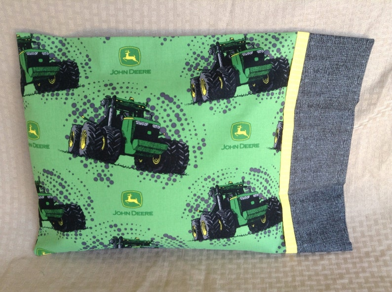 John Deere Travel Pillowcase Etsy