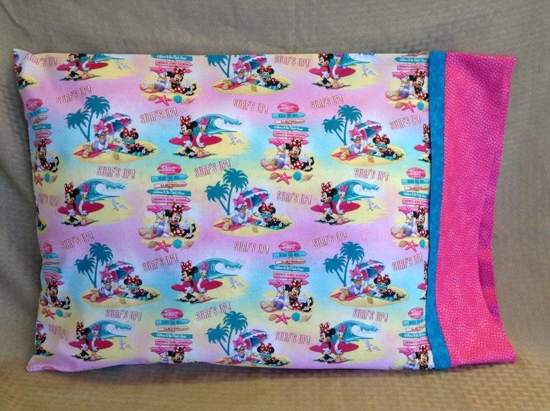 Summertime Minnie Mouse Standard Pillowcase