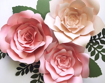 Diy paper flowers etsy paper flower kit diy paper flower kits nursery decor over the crib paper flowers girls night out craft paper flower wall baby shower mightylinksfo