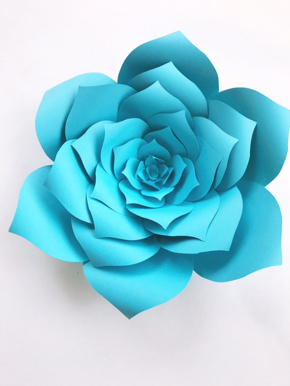 Diy baby shower decor paper flowers baby shower how to paper etsy image 0 mightylinksfo