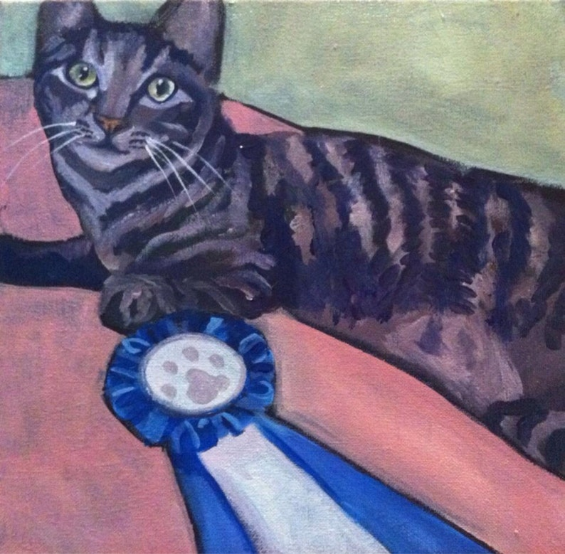Commission a Pet Painting  Various Sizes Available image 0