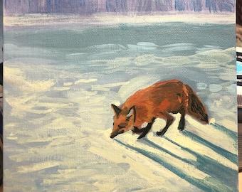 Timothy Shortbread on a Snowy Morning