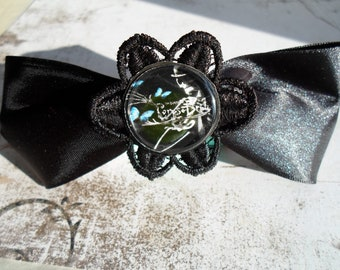 Corpse bride hair clip
