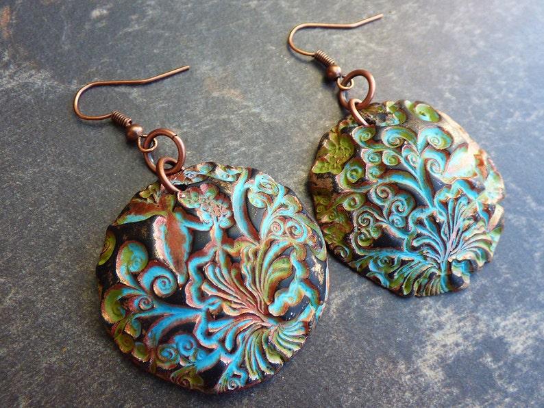 41a9a814d Taste of summer polymer clay earrings | Etsy