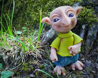 The Schrumes - Felix - Polymer Clay TROLL Figurine Collectible Miniature