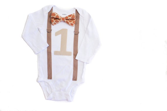 Jungle Theme 1st Birthday Outfit Baby Boy First Shirt