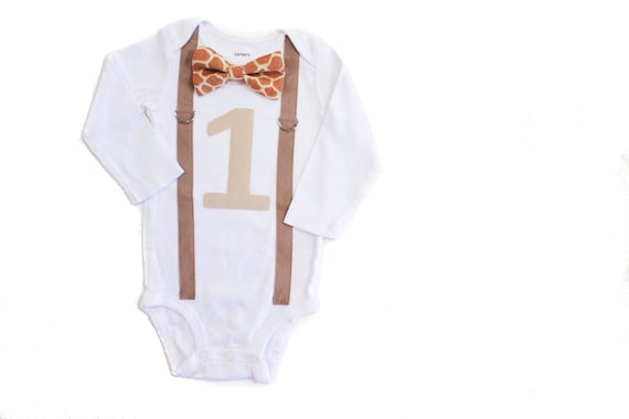 Jungle Theme 1st Birthday Outfit Baby Boy First Birthday Shirt