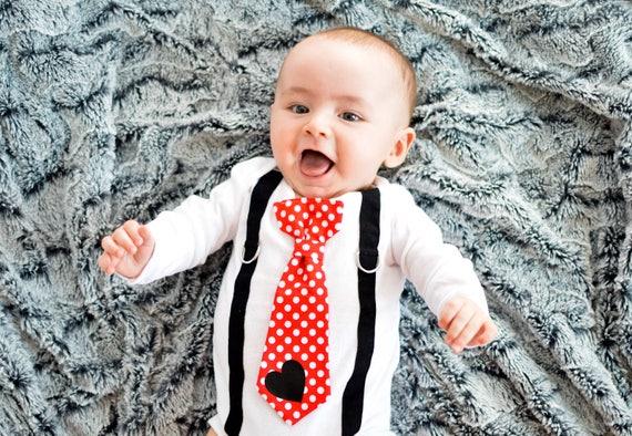 Baby Boy Valentine S Day Outfit Newborn Boy First Valentines Day