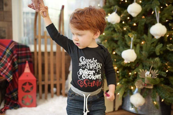 image 0 - Boys Christmas Outfit. Toddler Boy Christmas Shirt And Etsy