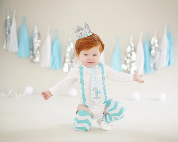 Winter Onederland 1st Birthday Outfit Snow Baby Boy