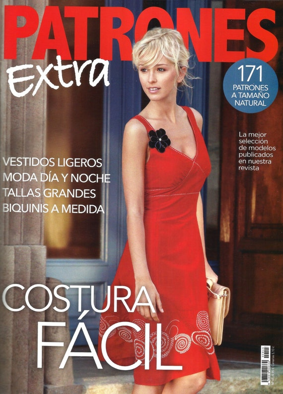 New PATRONES magazine EXTRA costura fácil (back issue).- from ...