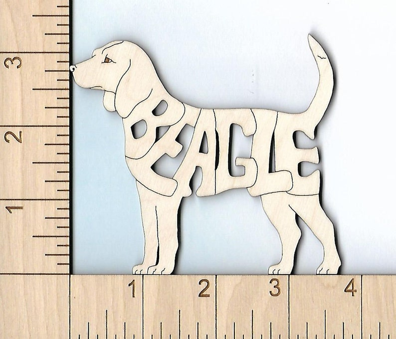 Dachshund dog laser cut and engraved wood Magnet Great Gift Idea
