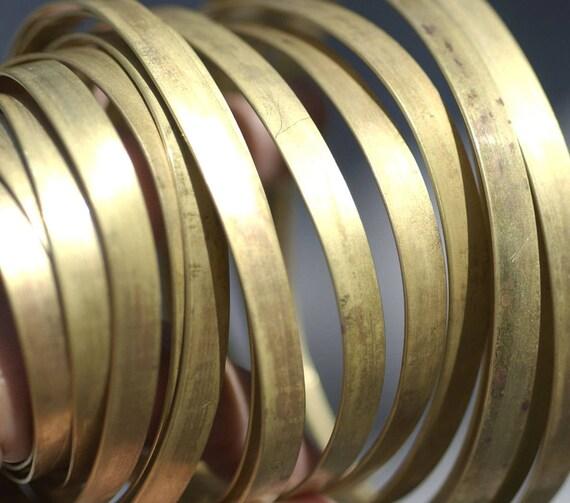 Messing-Lünette-Draht Handmade 65 mm breit 20 Gauge | Etsy