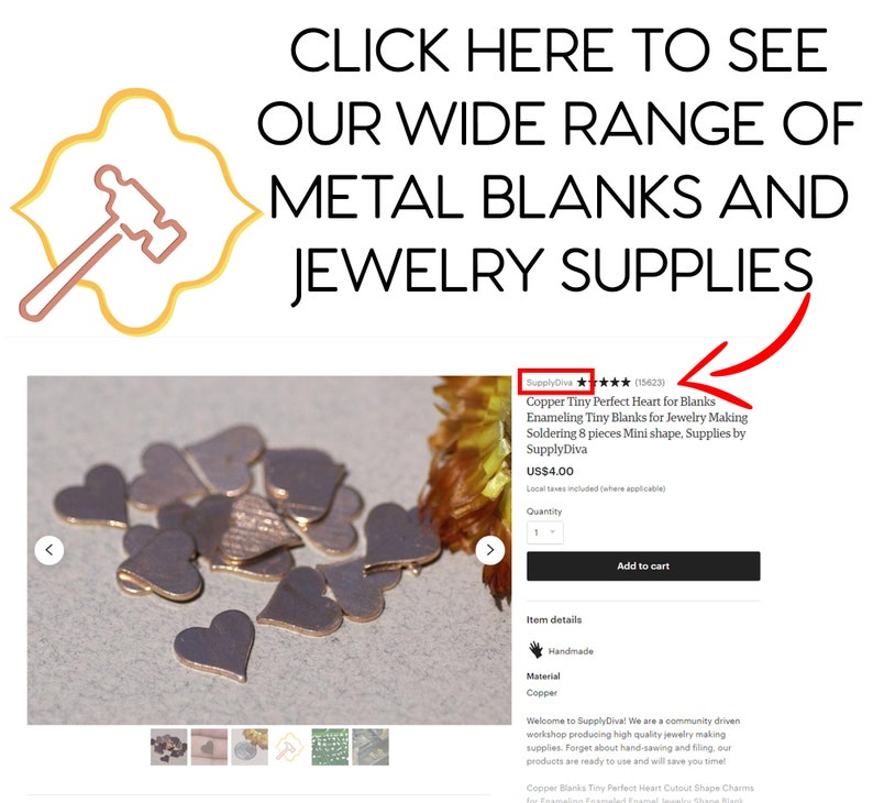 Jewelry Components-Variety of Metal Metal Hoops 35mm with Hole for Earrings or Pendant Offset Circle for Enameling Blank Stamping Texturing