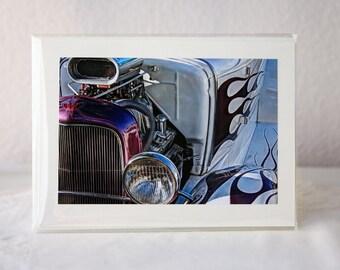 Greeting Card: Vintage Car