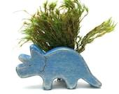 triceratops wooden dinosaur toy, dinosaur figurine, wooden toys