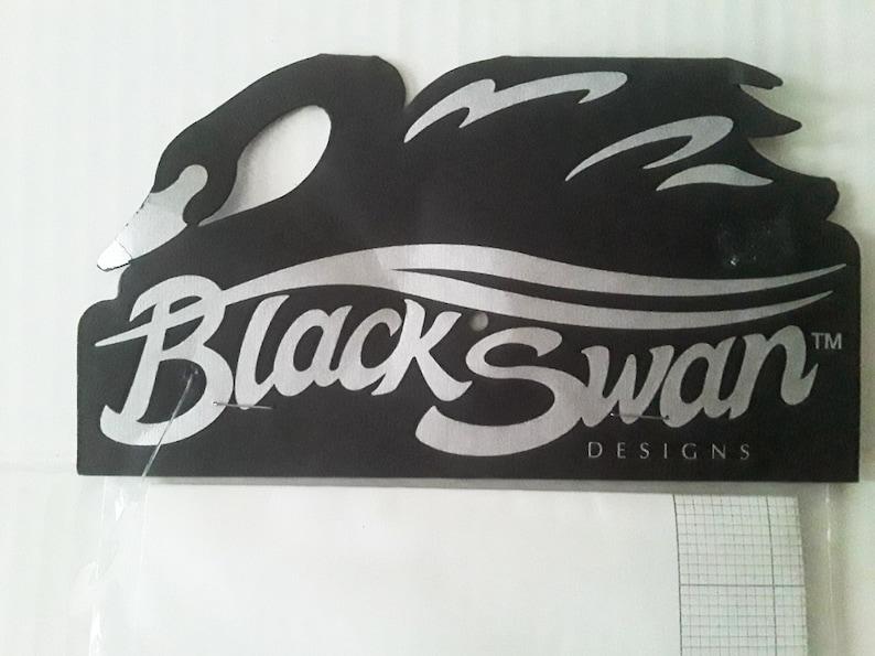 Black Swan Designs Vintage Cross Stitch Instructions for IRIS by Karen Weaver 1996