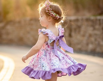 Mackinac Island Dress PDF Sewing Pattern, including sizes 12 months - 14 years, Pattern for Children