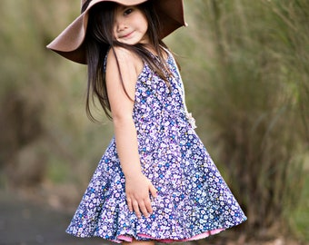 d015f9201a49d Sorrento Dress PDF Sewing Pattern, including sizes 12 months - 14 years,  Girls Pattern