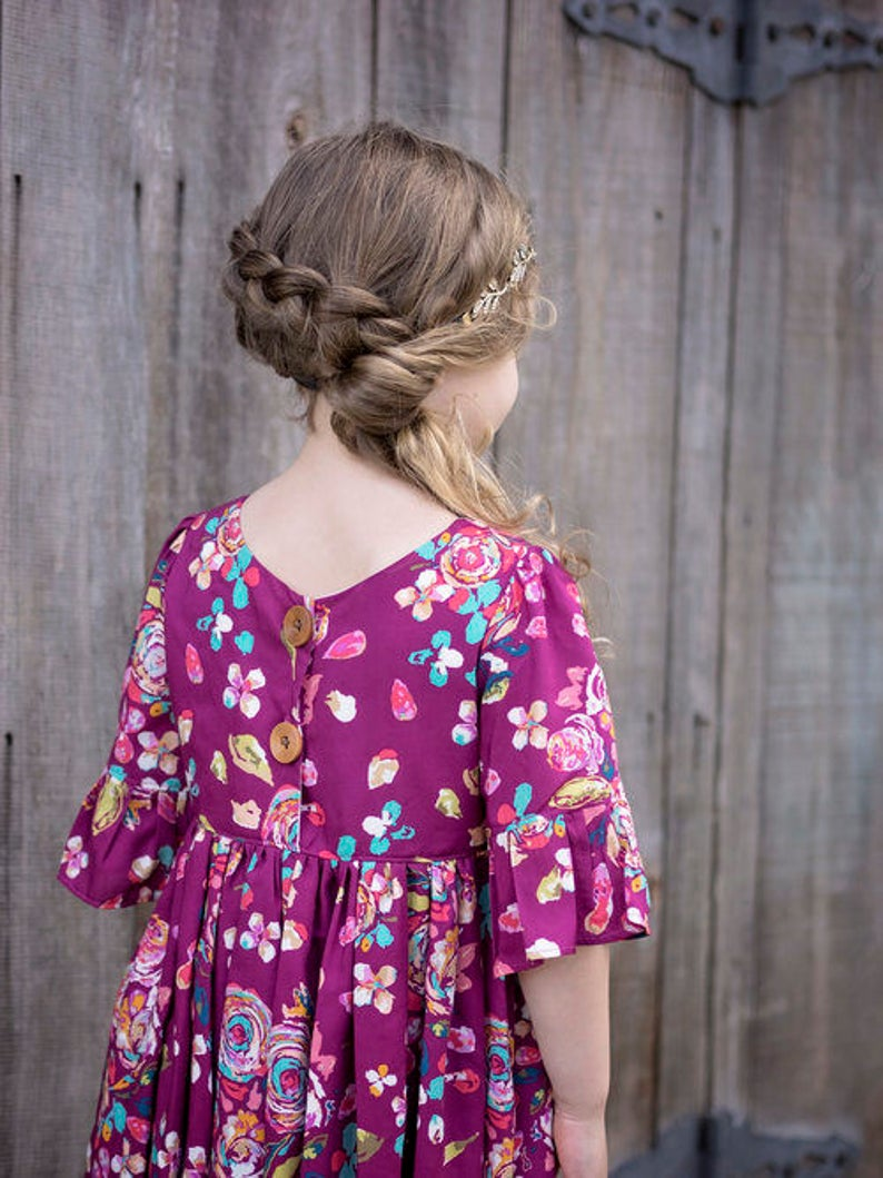 Florence Top and Dress PDF Sewing Pattern including sizes 12 image 4