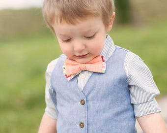 Vest PDF Sewing Pattern, Boy & Baby PDF Tutorial, Reversible, Sizes 3m-7