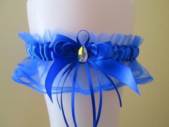 Royal Blue Prom 2018 Garter Royal Blue Wedding Garter Royal Etsy
